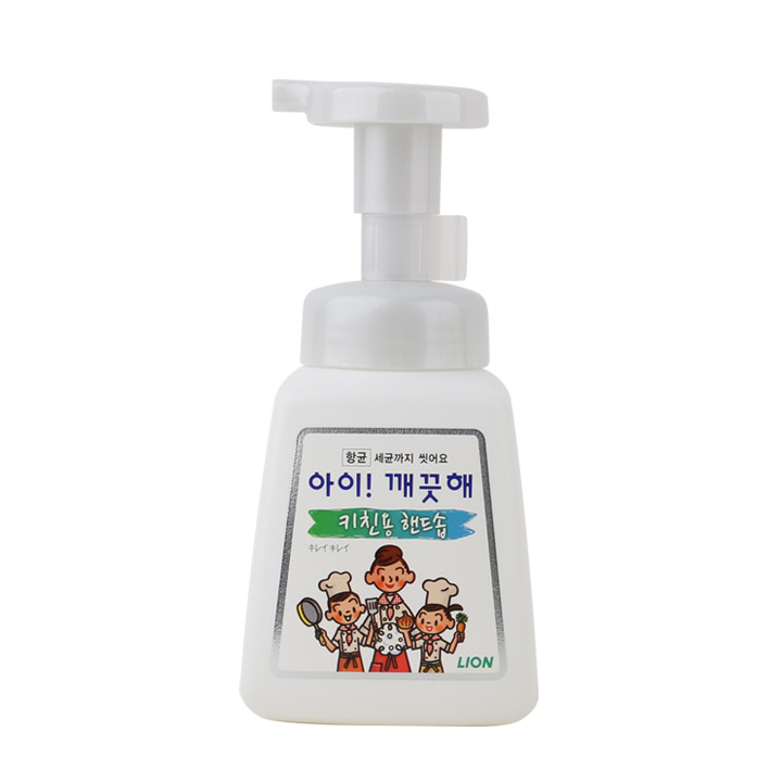 라이온 아이깨끗해 폼핸드솝 키친 250ml