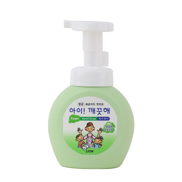 라이온 아이깨끗해 폼핸드솝 청포도 250ml