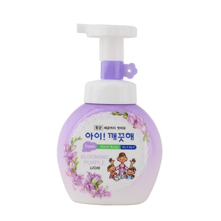 라이온 아이깨끗해 폼핸드솝 블루밍퍼플 250ml