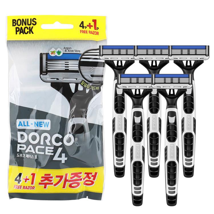 도루코 페이스4 면도기 휴대용(4P +1P)