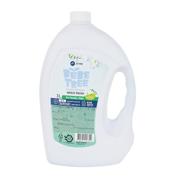 베베트리 액체세제 (온가족용) 3L