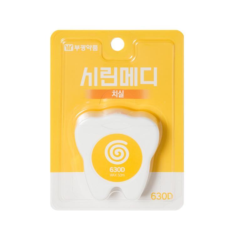 부광약품 시린메디 치실 왁스 1P